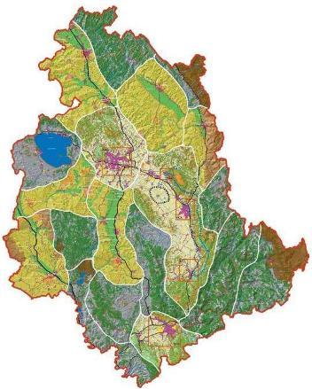 Regione Umbria Cartina Fisica.Carta Dei Paesaggi Regionali Sintesi Delle Risorse Identitarie Umbriageo