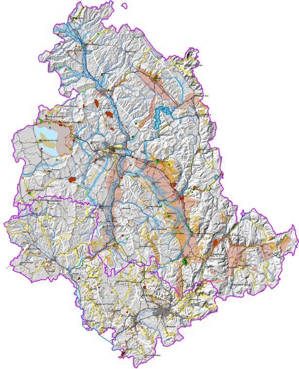 Cartina Stradale Umbria Da Stampare.Le Tutele Di Varia Natura Umbriageo
